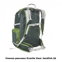 Рюкзак городской Granite Gear Jackfish 38 Flint/Black