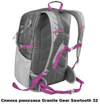 Рюкзак городской Granite Gear Sawtooth 32 Harvest Red/Red Rock/Ember Orange